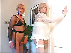 two amateur crossdresser sissys