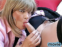 Lustful transvestites toy fuck each other in heat on hot porn dvd dedicated to transvestites