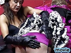 Hot action with some nasty crossdressers