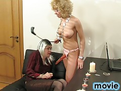 Freaky CD realizes her male patient's fantasies