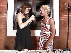 sissy fucked by a shemale